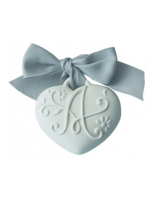 Medalion ceramic parfumat - inima