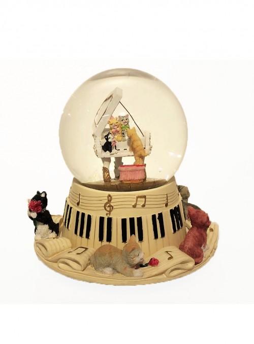 Glob Muzical cu Pisicute