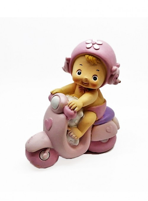 Copilas pe Motocicleta