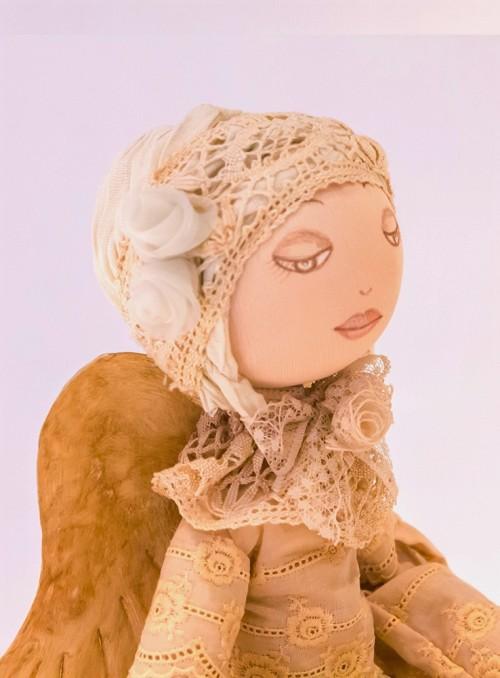 Papusa din material textil Ingeras