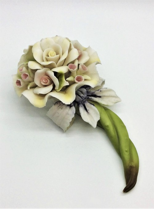 Floare din portelan Capodimonte