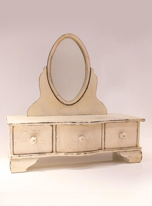 Oglinda cu 3 sertare
