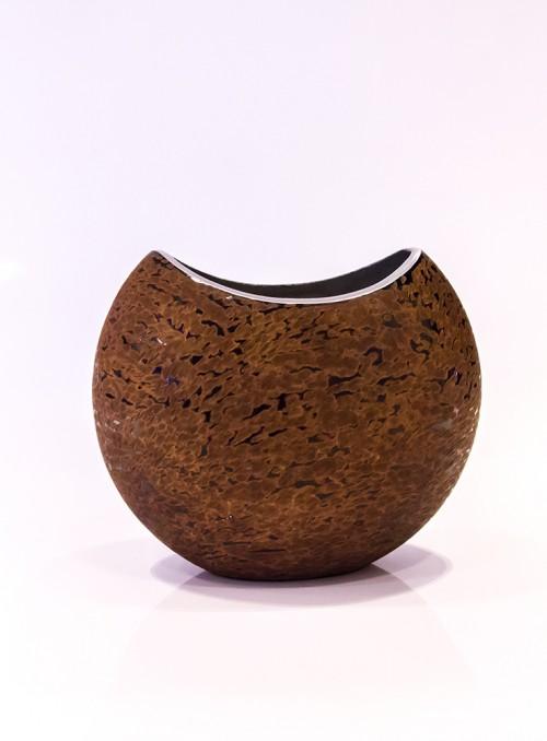 Vaza rotunda maro