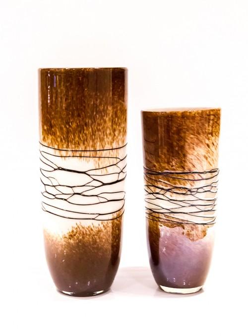 Vaza decorativa sticla (2 marimi)