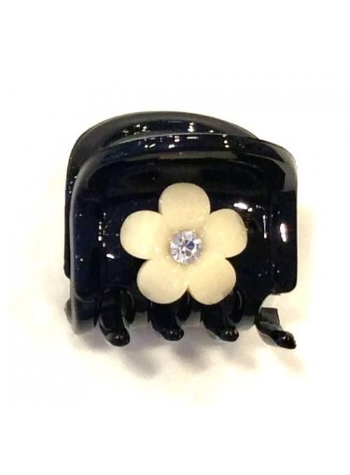 Cleste Negru cu Floare Galbena