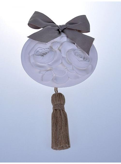 Medalion ceramic parfumat - Rose Ancienne