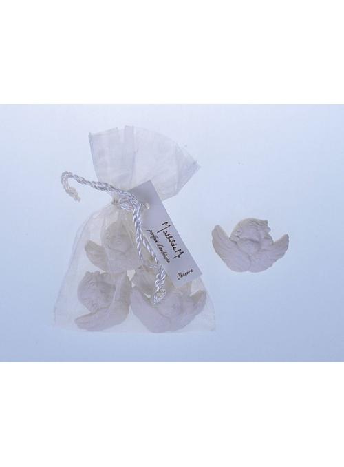 Saculet mic cu figurine parfumate Chanvre - ingerasi