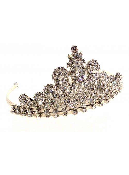 Diadema Argintie cu Cristale